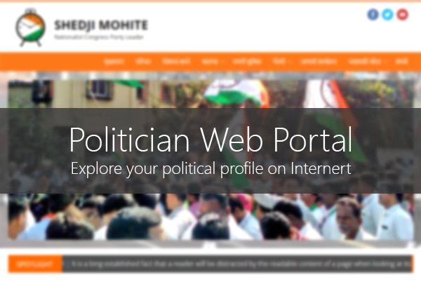 Politician Web portal